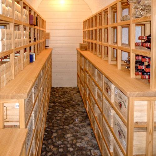 loutan agencement cave à vin