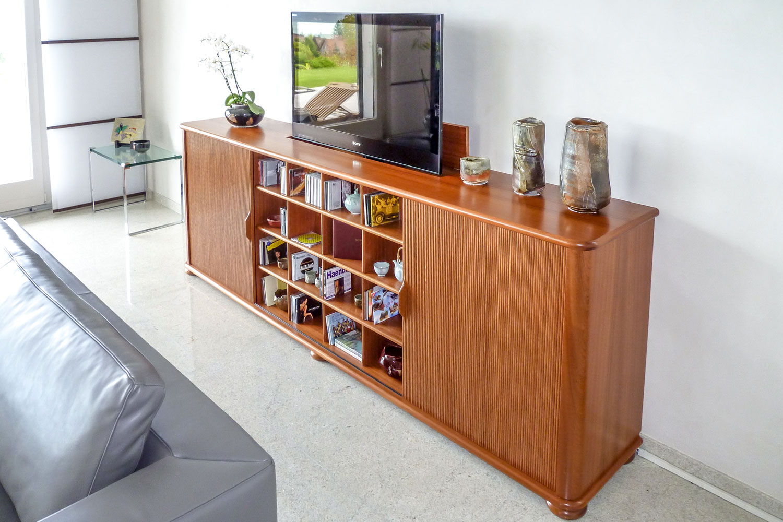 Fabrication meubles tv automatisés et motorisés