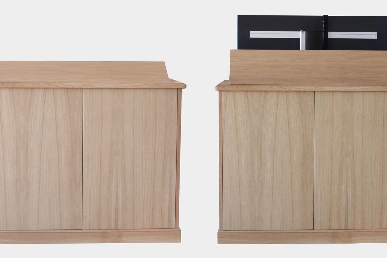 loutan fabrique meubles présentation démonstration TV