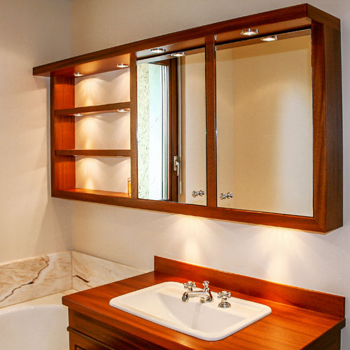 loutan salle de bain mobilier bois exotique